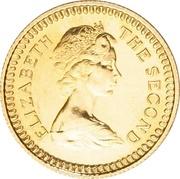 1 Pound - Elizabeth II (2nd portrait) – obverse