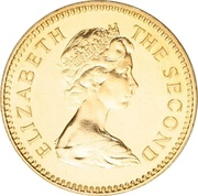 5 Pounds - Elizabeth II (2nd portrait) – obverse