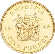 5 Pounds - Elizabeth II (2nd portrait) – reverse