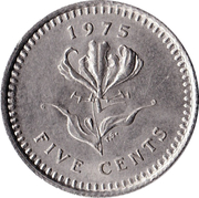 5 Cents -  reverse
