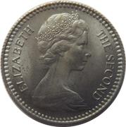 1 Shilling / 10 Cents - Elizabeth II (2nd portrait) – obverse