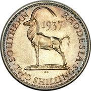 2 Shillings - George VI – reverse