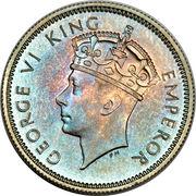 6 Pence - George VI – obverse