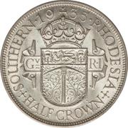 ½ Crown - George V – reverse