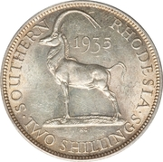 2 Shillings - George V – reverse