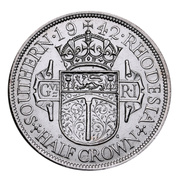 ½ Crown - George VI – reverse