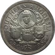 1 Crown - Elizabeth II (Cecil Rhodes) – reverse