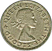½ Crown - Elizabeth II – obverse