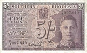 5 Shillings (small) – obverse