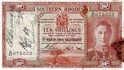 10 Shillings – obverse