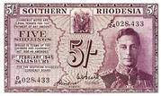 5 Shillings (Large) – obverse