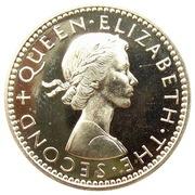 3 Pence - Elizabeth II (1st portrait; Silver Proof) – obverse