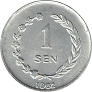 1 Sen -  reverse