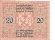 20 Heller (Ried im Innkreis) -  reverse
