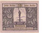 10 Heller (Ried im Innkreis) -  obverse