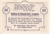 50 Heller (Ried im Traunkreis) – reverse