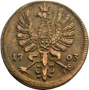 4 Pfennig - Maximilian Ulrich von Kaunitz – obverse
