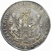 1 Dalderi - Gustav II Adolf (Looking up) – reverse