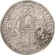 1 Dalderi - Gustav II Adolf (Looking forward) – reverse