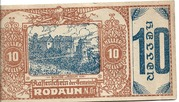 10 Heller (Rodaun) – obverse