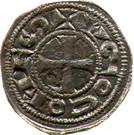 Denier comté de Rodez - Hugues II et Hugues III (1156-1196) – obverse