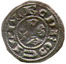 Denier comté de Rodez - Hugues II et Hugues III (1156-1196) – reverse