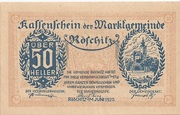 50 Heller (Röschitz) -  obverse