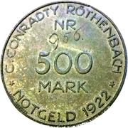 500 Mark - Röthenbach (C. Conradty) – obverse