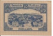 10 Heller (Roitham) – reverse