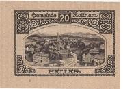20 Heller (Roitham) – reverse