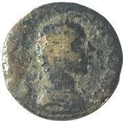 AE19 - Geta (EΦECIΩN; Ephesus) -  obverse