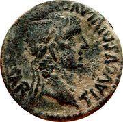 As - Tiberius (Calagurris) – obverse
