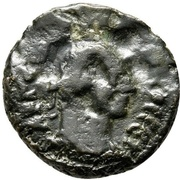 Potin Tetradrachm - Tacitus (Alexandria) – obverse