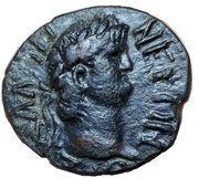 Dupondius - Nero (AΡIΣTIΩNOΣ ΣTΡATHΓOY; Apollo; Thessaly) – obverse