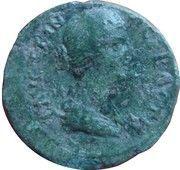 Assarion - Faustina (Hadrianopolis mint) – obverse