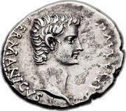 Drachm - Caligula (IMPERATOR PONT MAX AVG TR POT; Caesarea in Cappadocia mint) – obverse