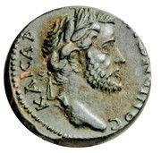 AE20 - Antoninus Pius (Koinon) -  obverse