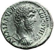 Æ 33 - Lucius Verus (Augusta Traiana mint) – obverse