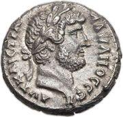 Tetradrachm - Hadrianus – obverse