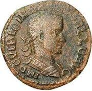 Sestertius - Trebonianus Gallus (P M S COL VIM AN XII; Viminacium) -  obverse