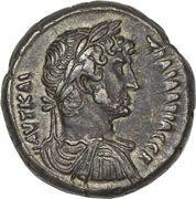 Tetradrachm - Hadrianus (L ΔEKATOV) – obverse