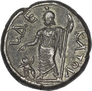 Tetradrachm - Hadrianus (L ΔEKATOV) – reverse
