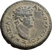 AE 20 - Titus (Judaea Capta) – obverse