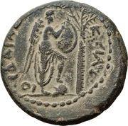 AE 20 - Titus (Judaea Capta) – reverse
