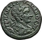 Æ 27 - Gordianus III (Hadrianopolis mint) – obverse