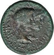 AE24 - Augustus [Rhoemetalkes I] – reverse