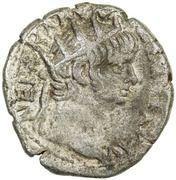Tetradrachm - Nero & Poppaea (Alexandria, year 11) – obverse