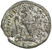 Tetradrachm - Herennius Etruscus (Antioch, eagle left, 2 dot variety) – reverse