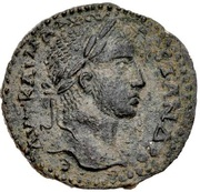 Tetrassaria - Severus Alexander (laureate bust, Tyche with ram from Nisibis, Mesopotamia) – obverse