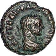 Tetradrachm - Diocletianus (Nike) – obverse